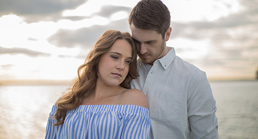 Harsens Island Engagement Session