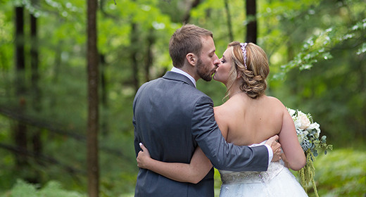 Interlochen Frog Pond VIllage Michigan Wedding